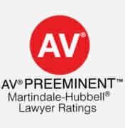 AV Preeminent - Lawyer Ratings